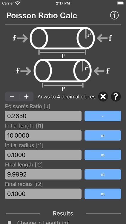 Poisson Ratio Calculator