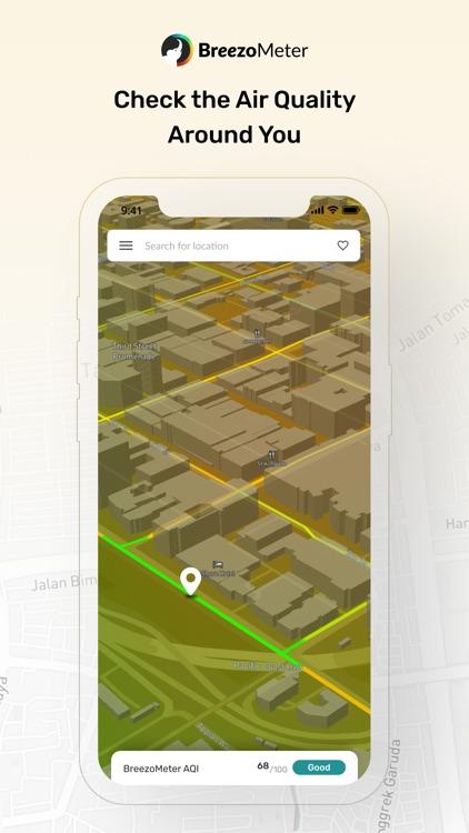 Air Quality App - BreezoMeter screenshot-0