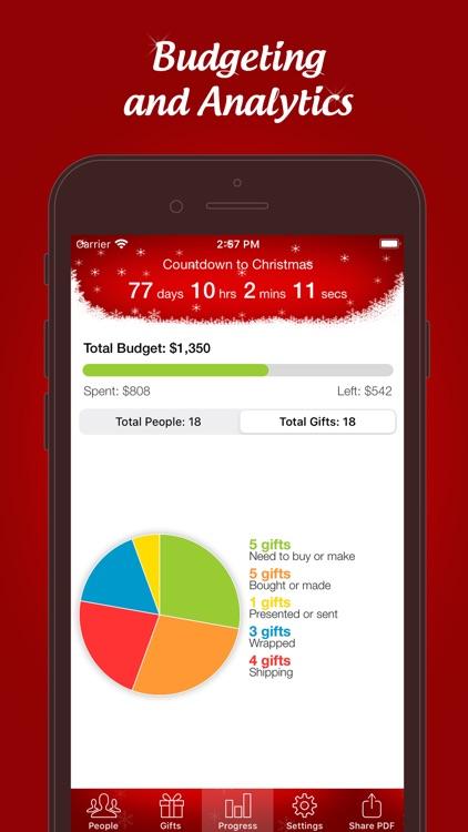 The Christmas Gift List Pro screenshot-3
