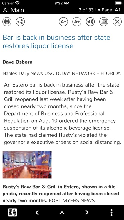 Naples Daily News Print