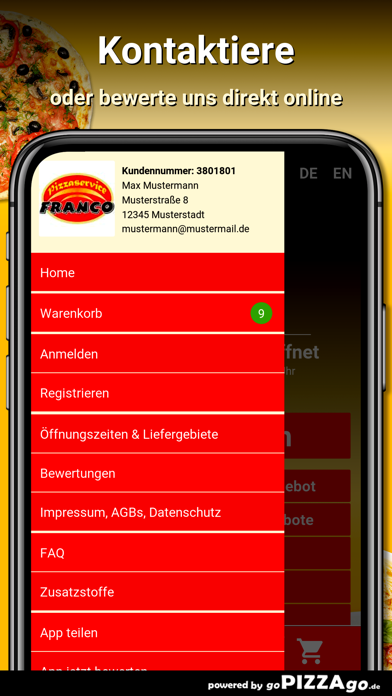 Pizza Franco Döbeln screenshot 3
