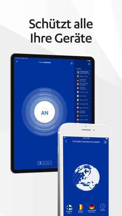 F-Secure FREEDOME VPNScreenshot von 8