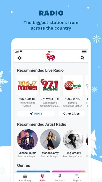 iHeart: Radio, Music, Podcasts screenshot-3
