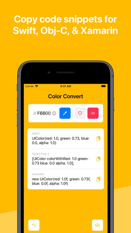 Color Convert: Hex to UIColor