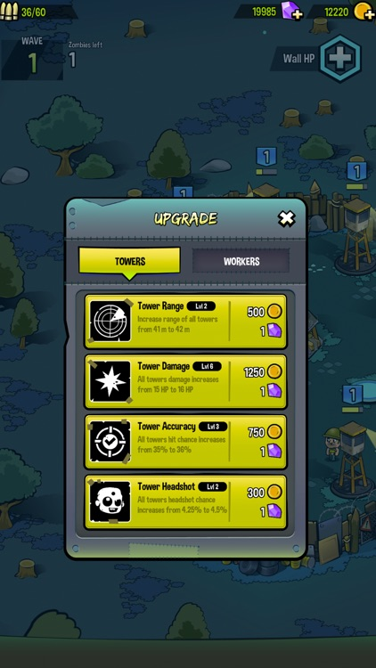 Zombies vs. Towers screenshot-3