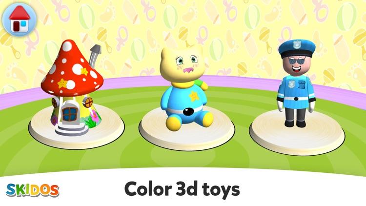 Coloring games: for kids 2-6 screenshot-0