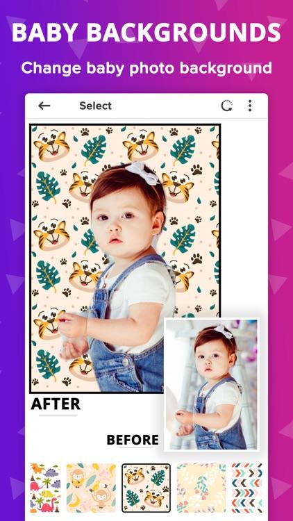 Baby Photo Editor - Baby Story screenshot-6