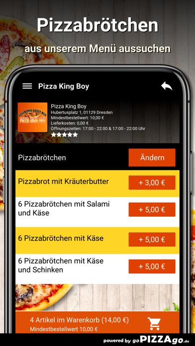 Pizza King Boy Dresden screenshot 5