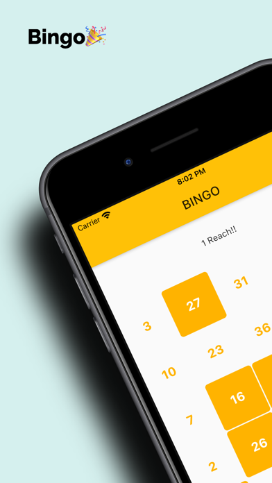 Bingo! 最もシンプルなビンゴアプリ紹介画像1