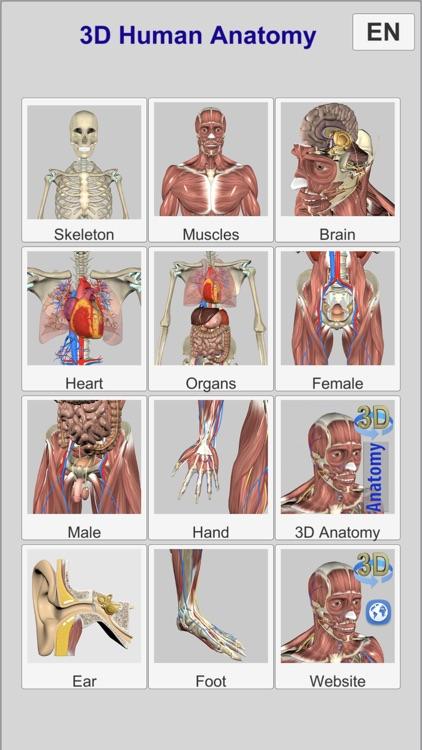 3D Anatomy Learning screenshot-0