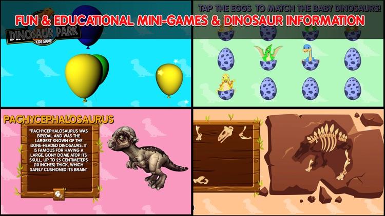 Dinosaur Park Kids Game screenshot-6