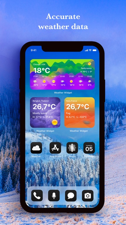 Weather Widget App screenshot-3