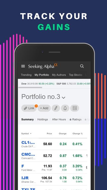 Seeking Alpha: News & Analysis screenshot-0