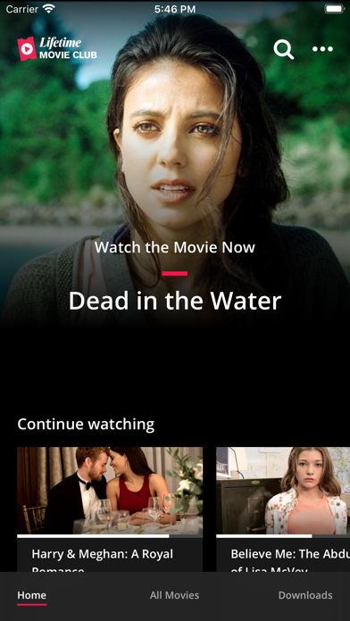 Lifetime Movie Club Screenshot