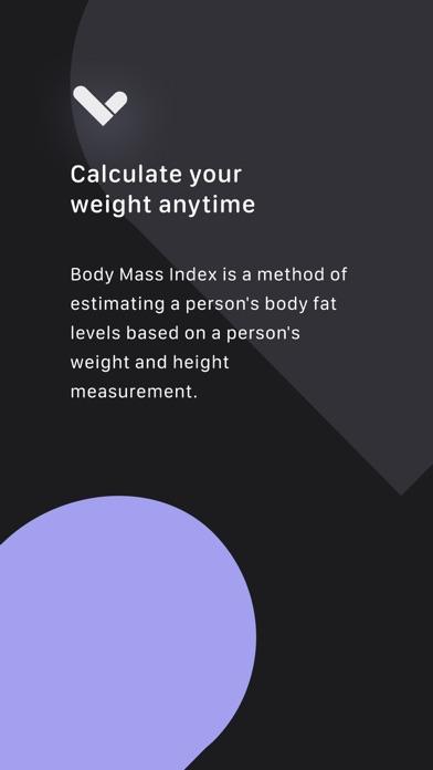 BMI/BMR/TDEE Calculator Screenshots