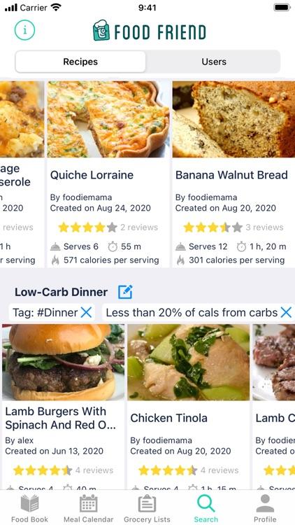 Food Friend: The Recipe App