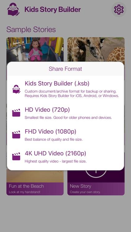 Kids Story Builder screenshot-3