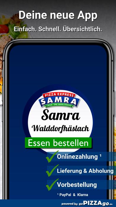 Samra Pizza Walddorfhäslach screenshot 1