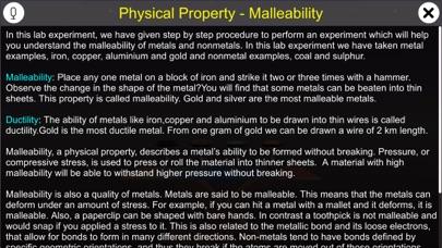 Physical Property Malleability screenshot 1