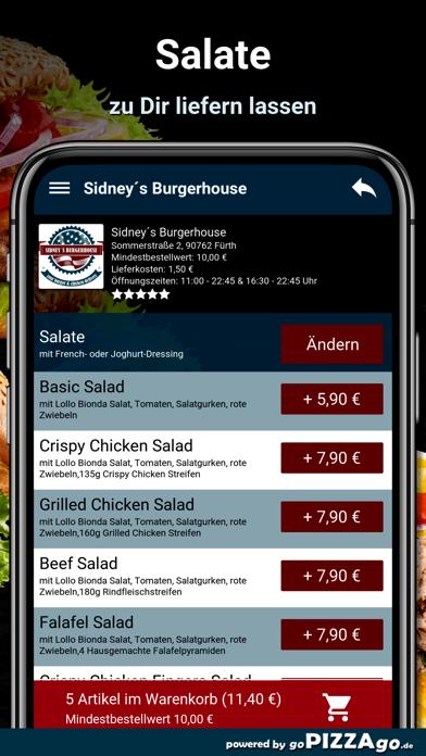 Sidney´s Burgerhouse Fürth screenshot 5
