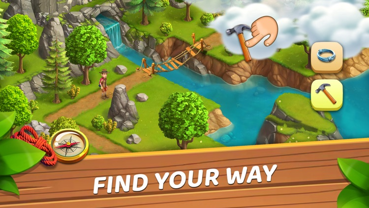 Funky Bay: ферма и головоломки screenshot-0