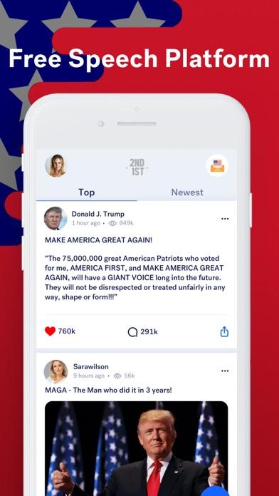 2nd1st -Uncensored News & Chat Screenshot