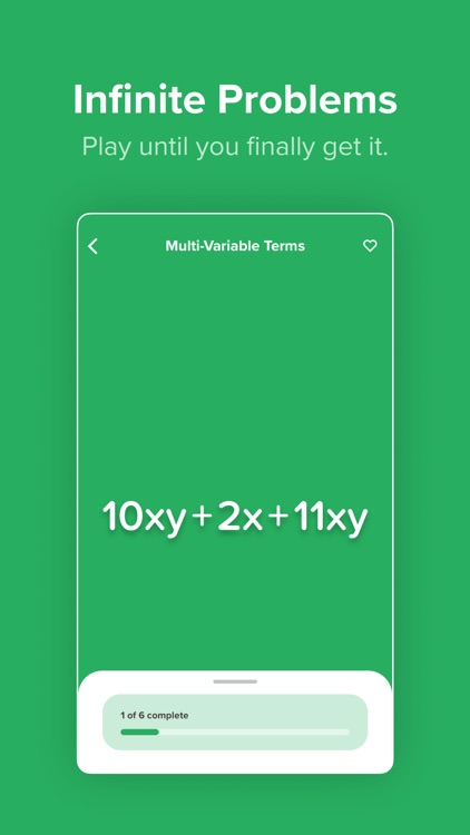 Algebra Touch: All Ages