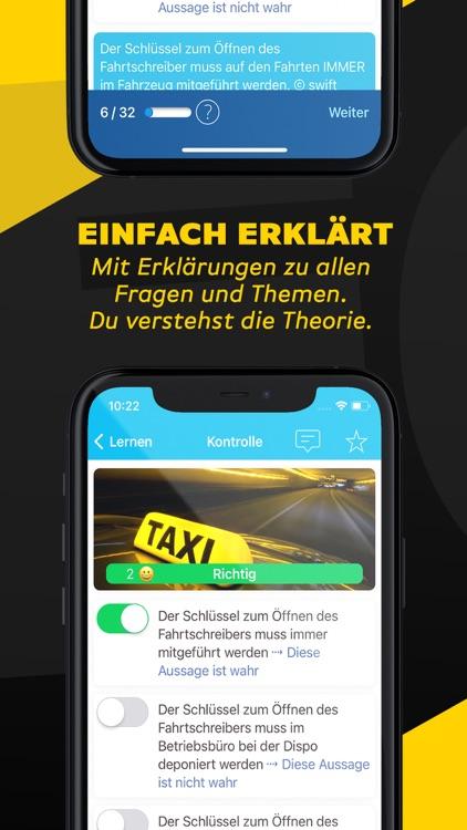 iTheorie Taxiprüfung Schweiz screenshot-3