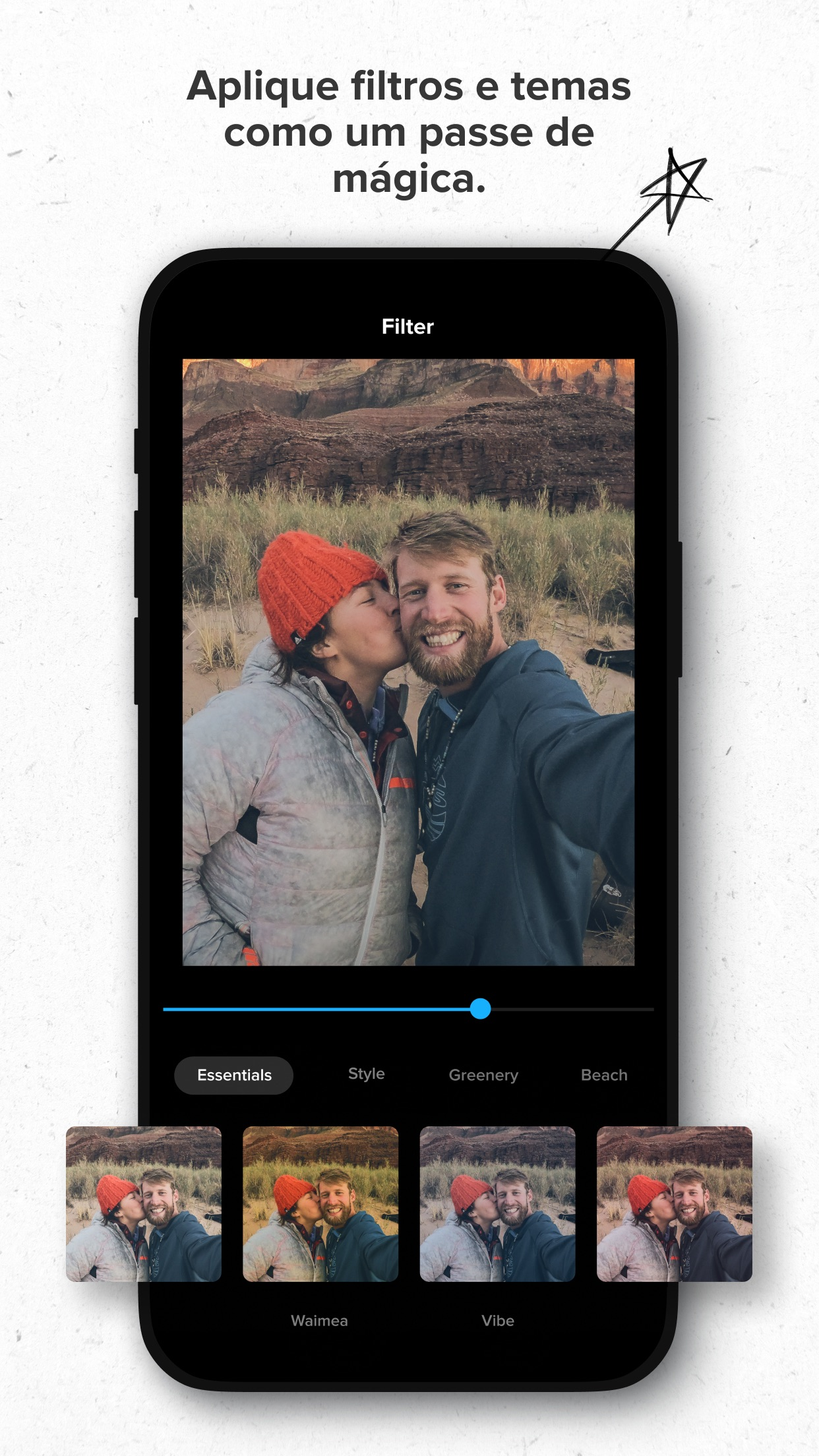 Screenshot do app GoPro Quik: Editor de Vídeo