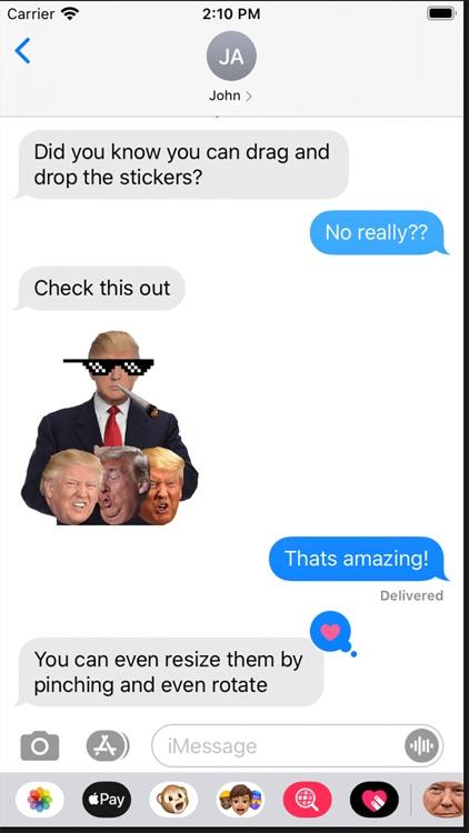 TrumpyTrump Premium Stickers