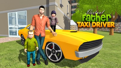 Virtual Single Dad Taxi Driver screenshot 1