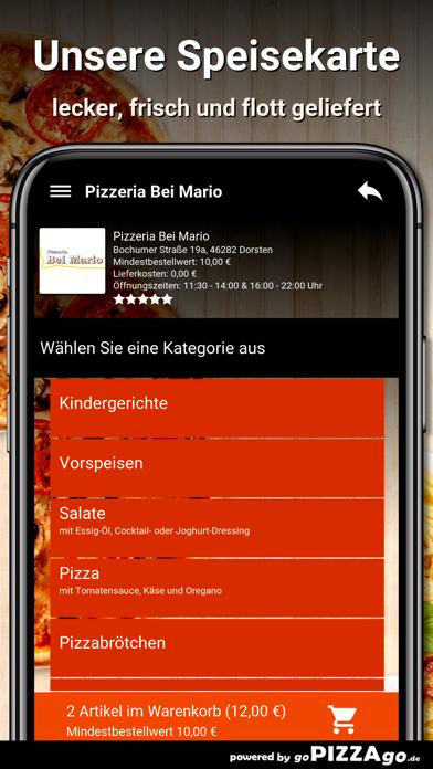 Pizzeria Bei Mario Dorsten screenshot 3