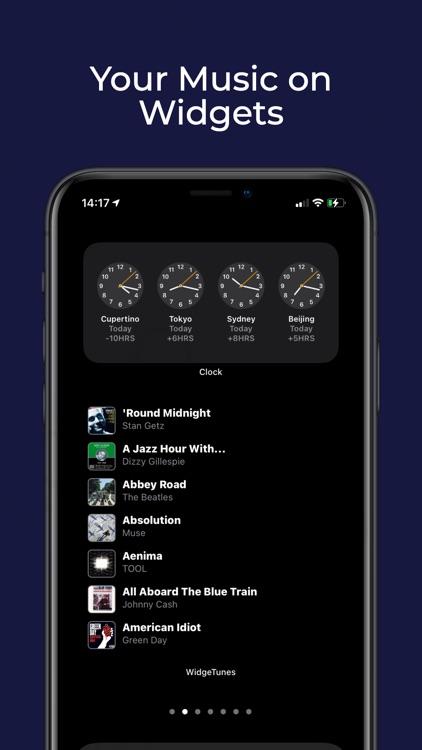 WidgeTunes - Music Widgets screenshot-0