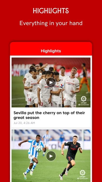 Sevilla FC - Official App screenshot-5
