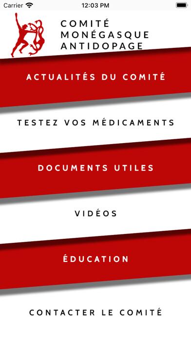 Comité Monégasque Antidopage screenshot 1