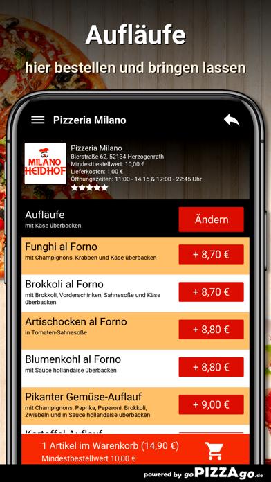 Pizzeria Milano Herzogenrath screenshot 6