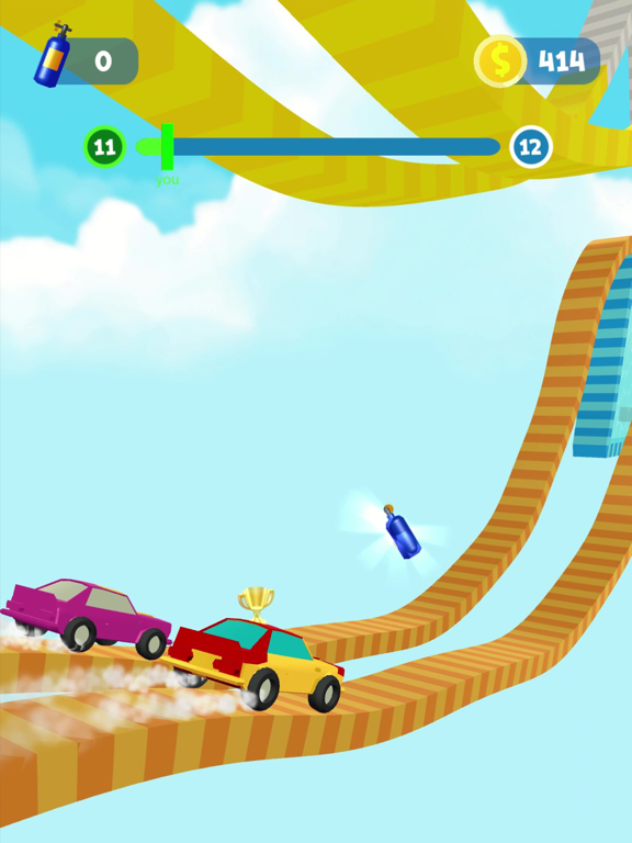 Ipad Screen Shot Shift Race: Car&boat games 3d 0
