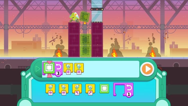 Dinosaur Coding games for kids screenshot-0