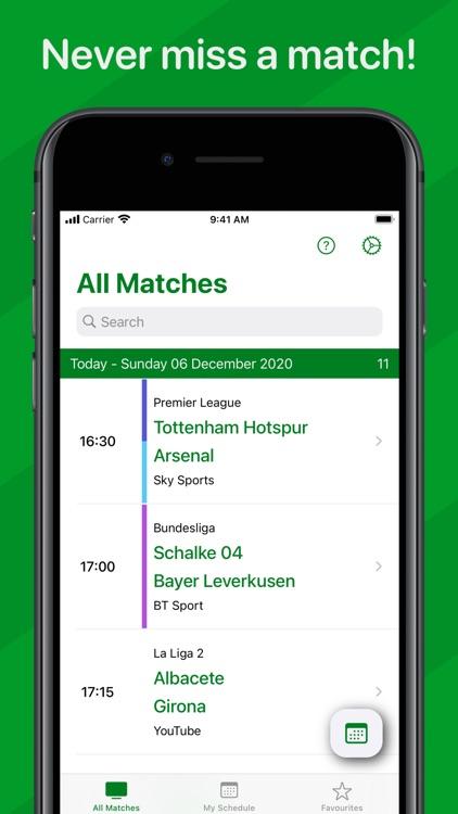 Live Football On TV screenshot-0