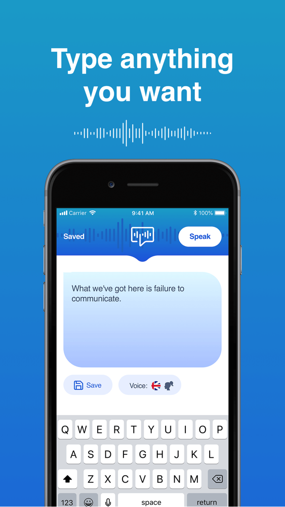 Text to Speech Plus+ App for iPhone - Free Download Text ...