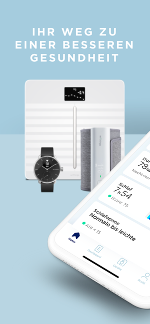 ?Withings Health Mate Screenshot