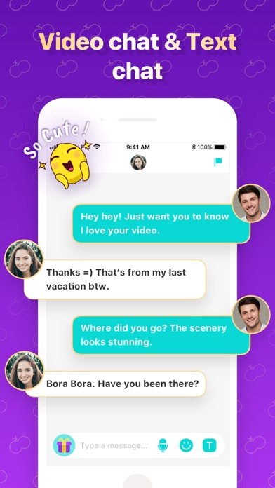 CherrU: Online Video Chat Screenshot