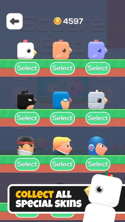 Square Bird. screenshot-3
