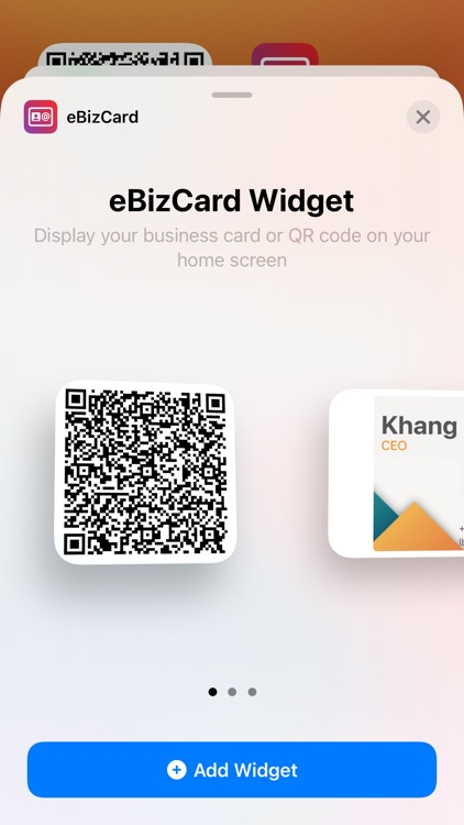 Contactless Business Card