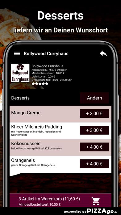 Bollywood Curryhaus Ettlingen screenshot 6