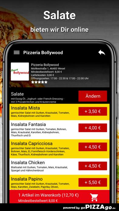Pizzeria Bollywood Wesel screenshot 6