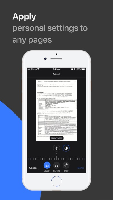 xScan: Document Scanner Screenshot