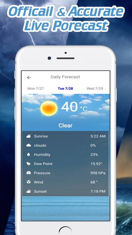Live Weather Forecast