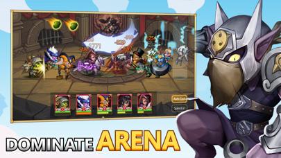 Screenshot #2 pour Heroes Legend: Idle Battle War