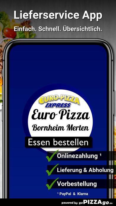Euro Pizza Bornheim Merten screenshot 1